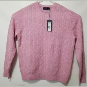 Vineyard Vines Cashmere Coral  Cotton Candy Size M
